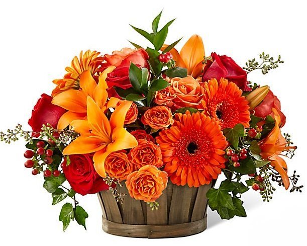 Thanksgiving Made Easy With Disposable Tabletop Essentials - Flower Arrangement Image