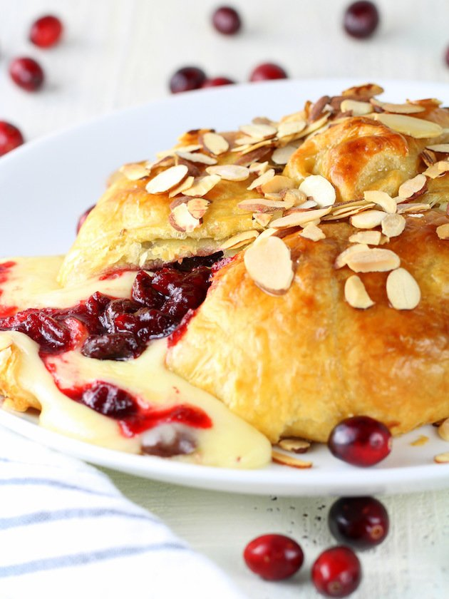 Baked Brie Recipe & Image: Eye Level Baked Brie with cheese