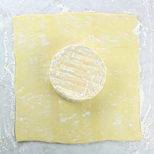 how to make brie puff pastry
