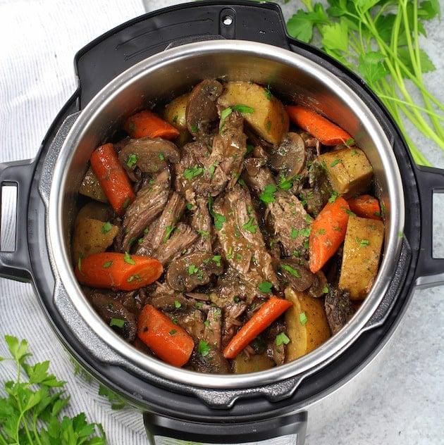 Instant Pot Pot Roast Veggies and Gravy