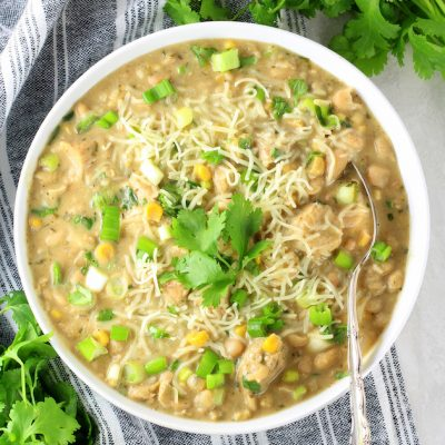 Creamy White Chicken Chili with Great Northern Beans