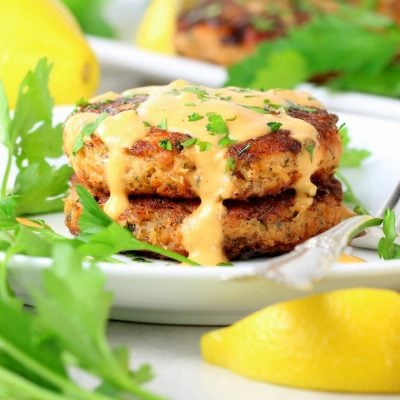 Easy Low Carb Salmon Patty Recipe