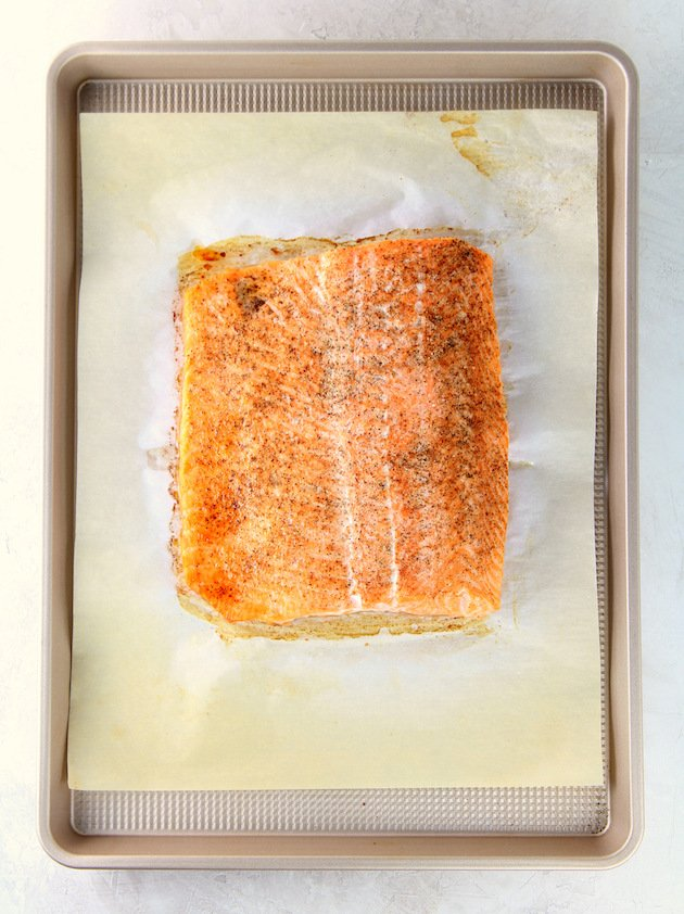 Easy Low Carb Salmon Patty Recipe & Image: how to bake fresh salmon (2)