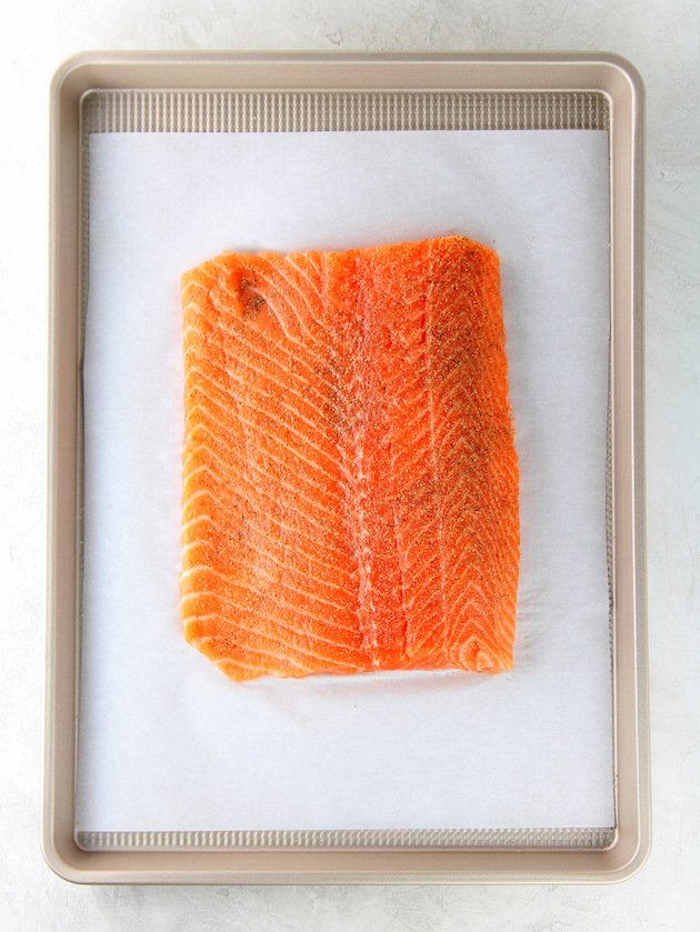 Easy Low Carb Salmon Patty Recipe & Image: How to bake fresh salmon
