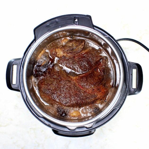 Roast Cooking in Instant Pot