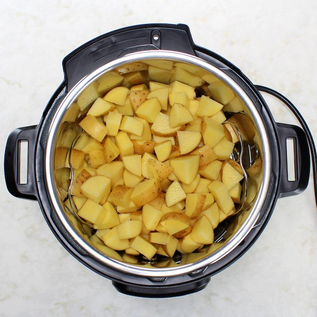 Cooking potatoes in an Instant Pot