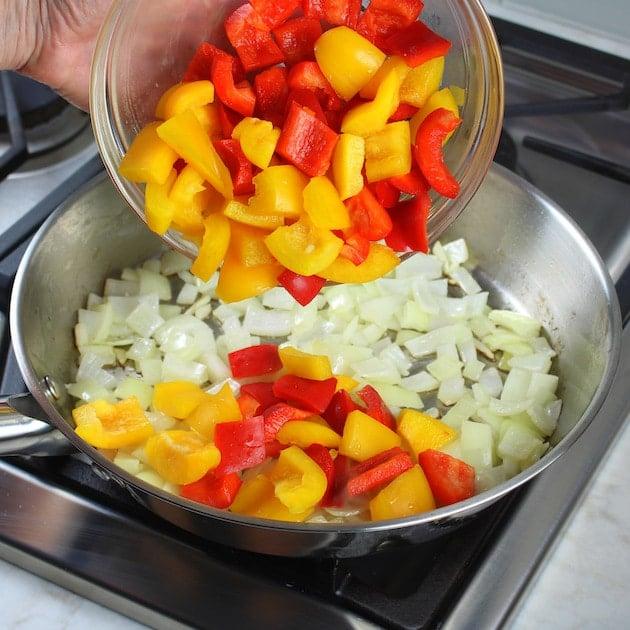 How to make Pineapple Chicken - adding veggies