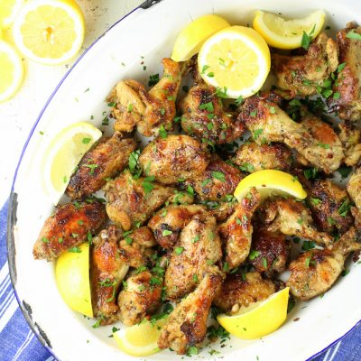 Lemon Pepper Wings (Low Carb & Gluten Free!)