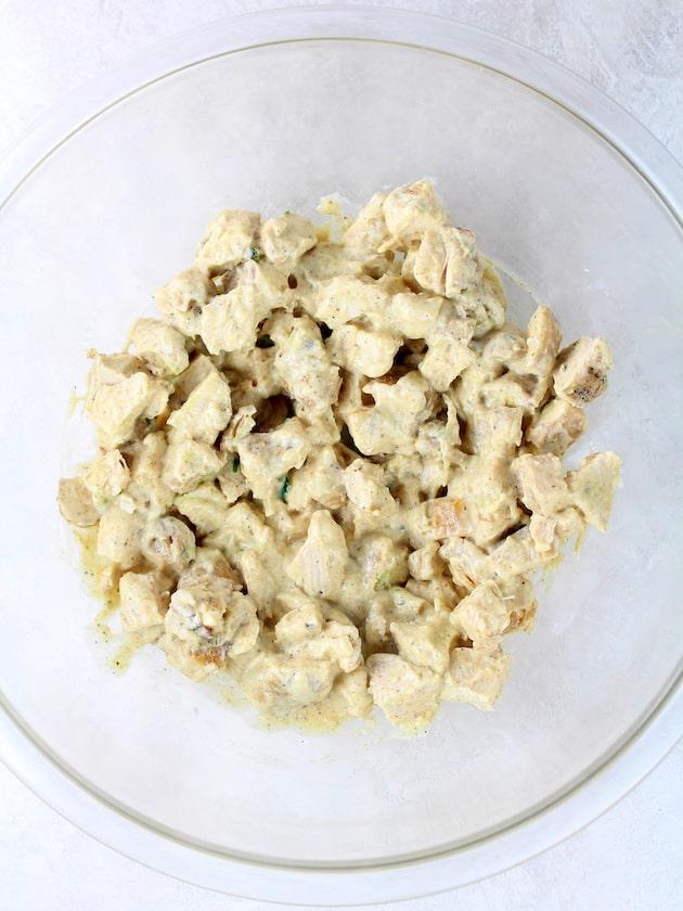 How to make Southwest Avocado Chicken Salad - Image