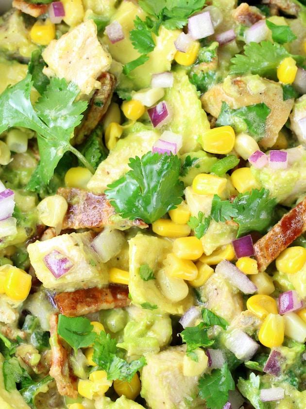 How to make Southwest Avocado Chicken Salad