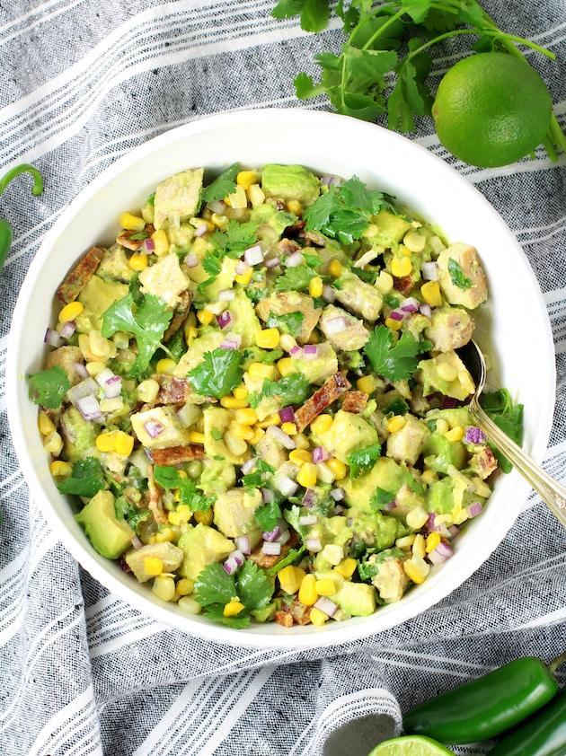 Avocado Chicken Salad Recipe & Image