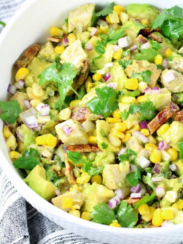 How to make Avocado Chicken Salad Recipe & Image