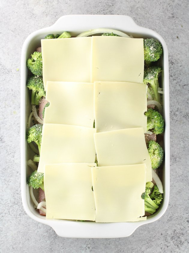 How To Make Chicken Cordon Bleu Casserole with Swiss Cheese