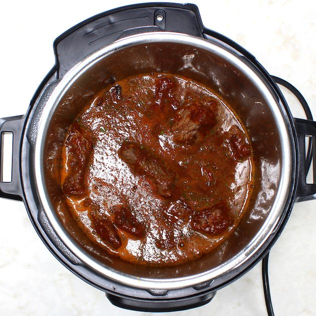 Cooking Mexican Beef in instant pot