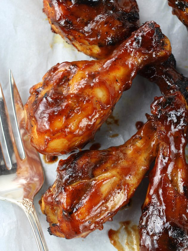 Grilled Chicken Drumsticks Recipe & Image