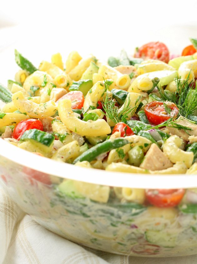 Pasta Salad with Canned Tuna