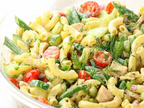 Tuna Pasta Salad With Green Beans Taste And See