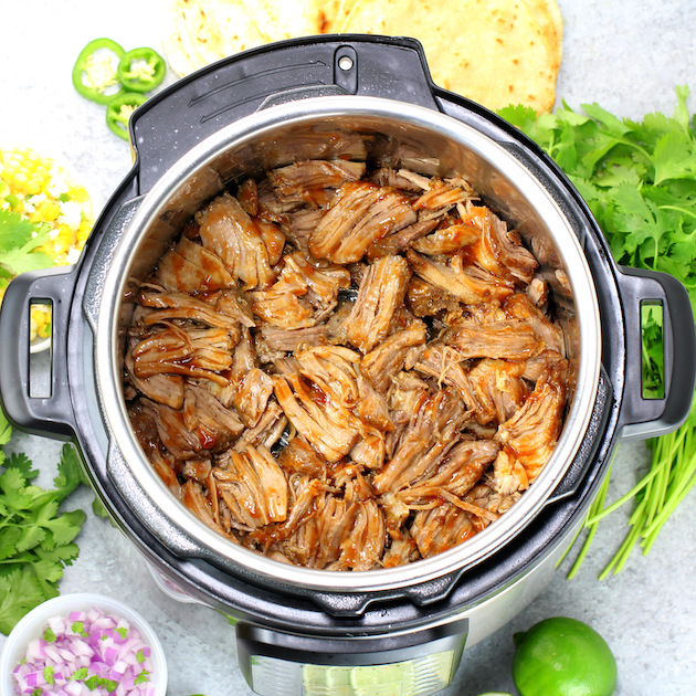 Instant Pot Pork Carnitas (Low Carb)