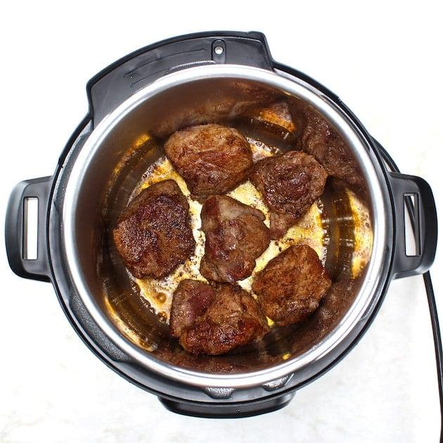 Searing pork shoulder roast in the instant pot part 2