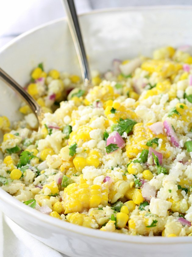 Mexican Street Corn Salad - Recipe & Image