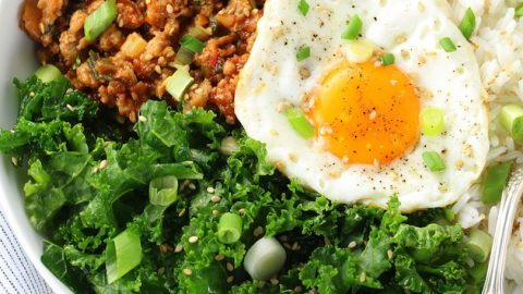 Korean Chicken Bowl with Kale