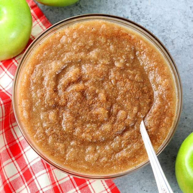 Easy Homemade Instant Pot Cinnamon Applesauce