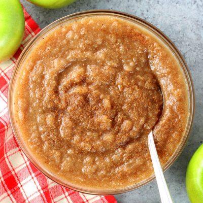 Easy Homemade Instant Pot Cinnamon Applesauce