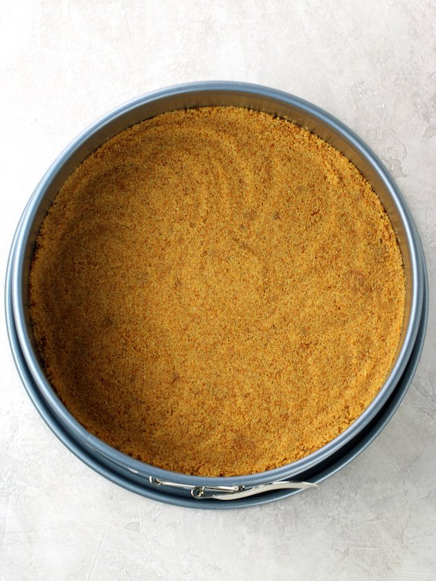 How to make graham cracker pie crust for cheesecake