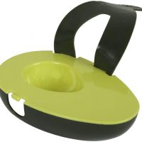 Avocado Holder with Rubber Strap