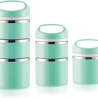 Stackable Stainless Steel Thermal Compartment Lunch Box