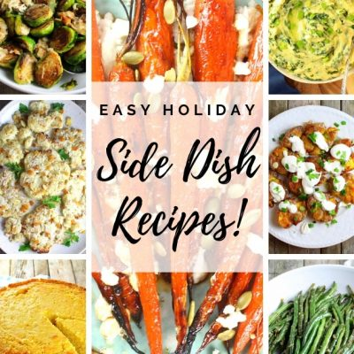 13 Easy Holiday Side Dish Recipes