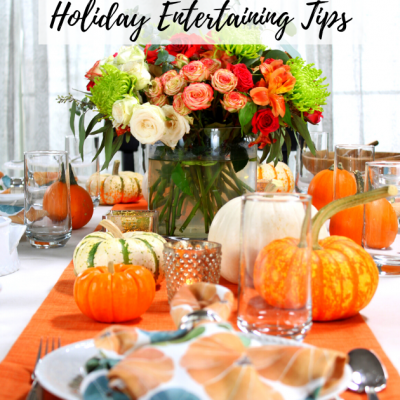 Easy Time-Saving Holiday Entertaining Tips with Milo's Tea