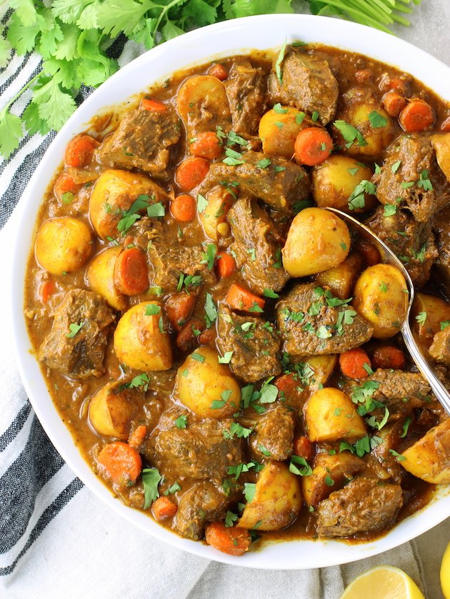 How to make Indian Beef Curry with Potatoes