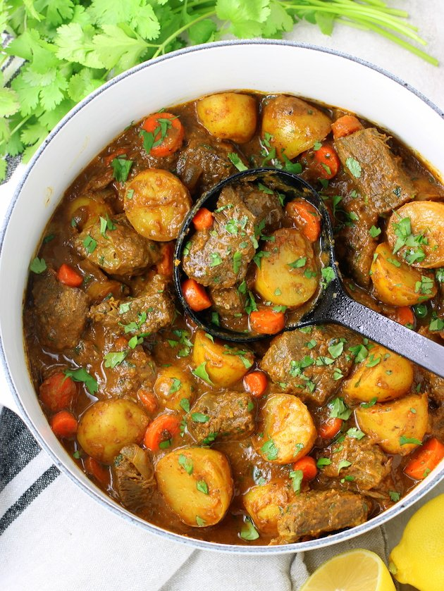Indian Beef Curry with Potatoes