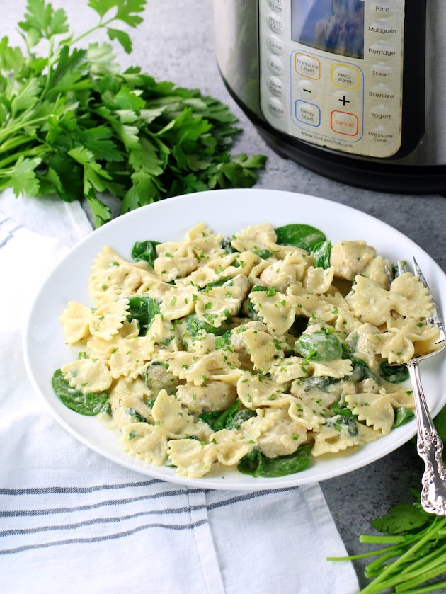 How To Make Instant Pot Chicken Florentine Pasta