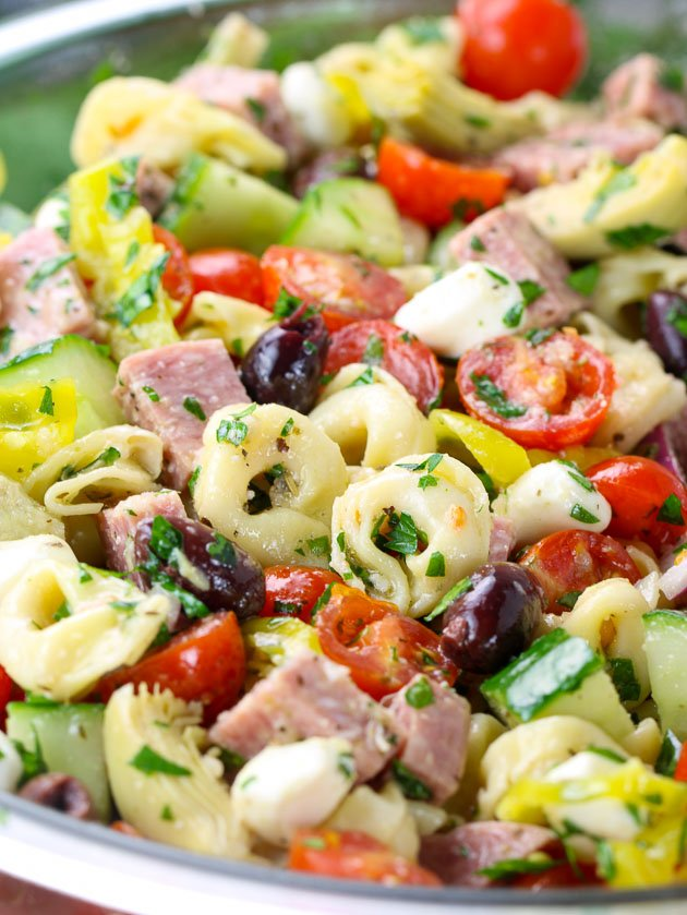 How to make Italian Tortellini Pasta Salad