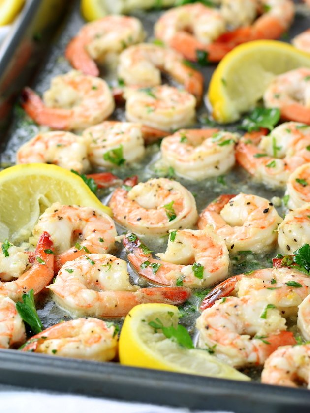 Easy Sheet Pan Lemon Pepper Shrimp