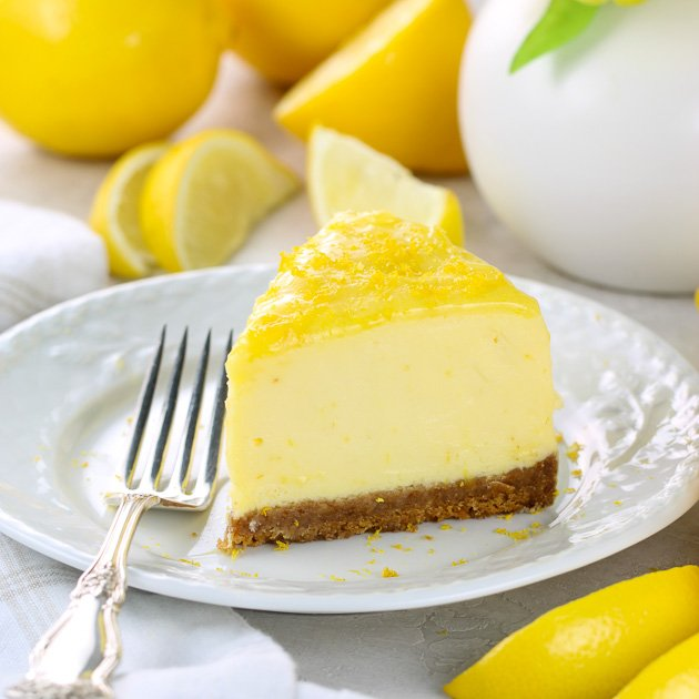Instant Pot Lemon Cheesecake REcipe