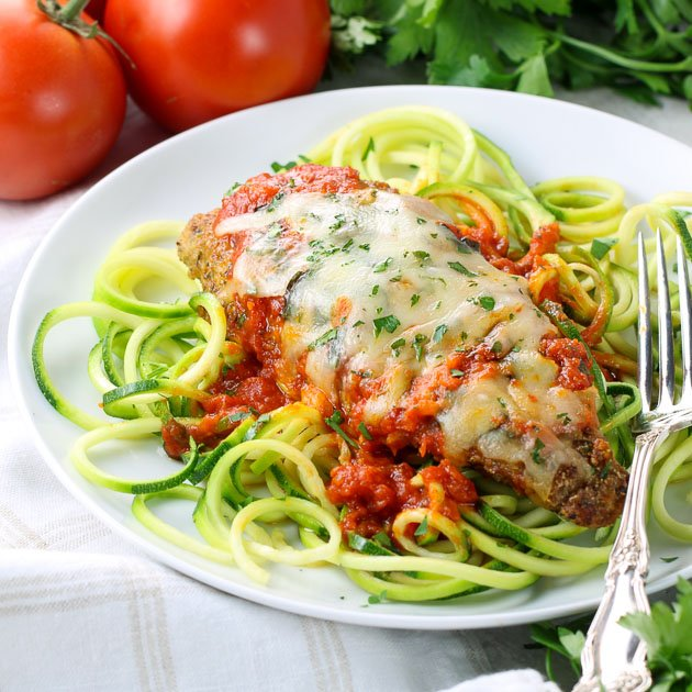 Baked Chicken Parmesan (Low Carb & Gluten Free)