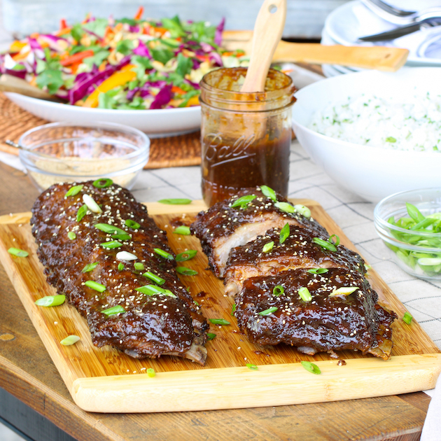 Asian Sweet Tea Ginger Baby Back Ribs