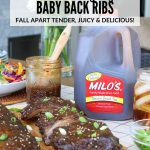 Sweet Tea Ginger Baby Back Ribs