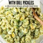 macaroni dill pickle salad