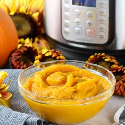 Homemade Pumpkin Puree (Instant Pot and Slow Cooker)