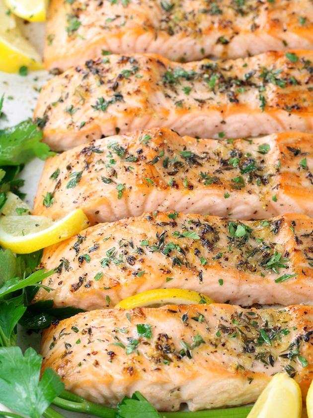Baked Lemon Pepper Salmon (Gluten Free)