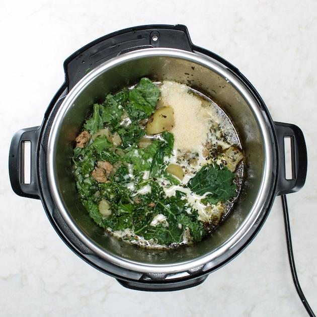 italian toscana soup in instant pot