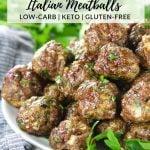 platter of meatballs